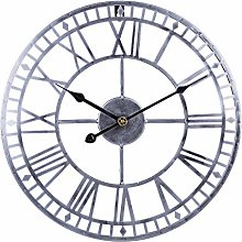 wangxike 40CM Large Wall Clock Vintage, Silent