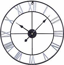wangxike 60CM Large Wall Clock Vintage XXXL,