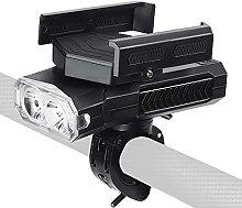 Wangyu Bike Light 5 In 1 USB, 4000-2000 MAh