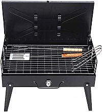 wangYUEQ Barbecue grill portable folding dry pan