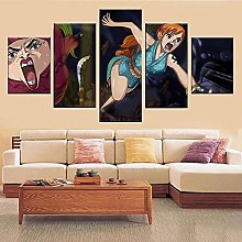 WANGZHONG Canvas Wall Art Paintings For Home Decor