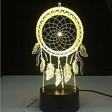 Wangzhuoyue Valentine Wind Chimes Table Lamp Dream