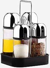 Wanlianer Spice jar Stainless Steel Bracket With 4