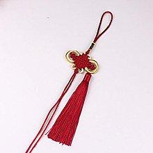WANM 10pcs Golden Edge Knot Tassel Diy Jewelry