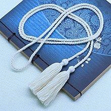 WANM 134cm Cotton Long Double-End Rope Tassel