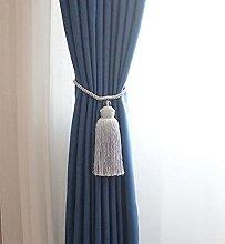 WANM 1Pcs Tieback Long Tassel Home Good Curtain