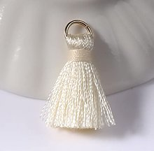 WANM 20-50Pcs Mini Silk Ring Tassel Curtain