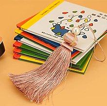 WANM 6Pcs 14Cm Silk Cord Tassel Sewing Simple