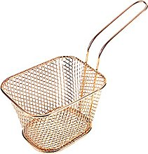 wantanshopping Stainless Steel Small Fried Basket