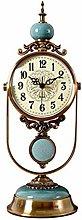WanuigH Classic Decorative Pendulum Clock Mantel