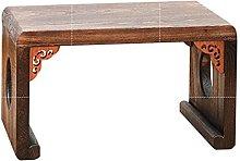 WanuigH Tatami Table Solid Wood Bay Window Small
