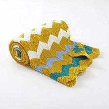 WanXingY Baby Blanket Fashion Rainbow Stripe Baby