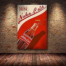 wanyouyinli Fallout 3 4 Game Poster Wall Art