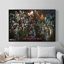 wanyouyinli Metal Gear Solid MG Video Game Poster