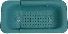 WANZSC PP Adjustable Dish Drainer Storage Rack