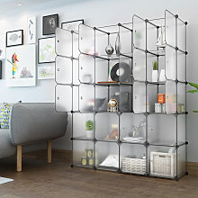 Wardrobe 147 * 37 * 183cm Storage Shelf Modular