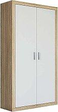 Wardrobe, Cupboard, 2 Sliding Door Wardrobe,