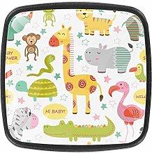 Wardrobe Cupboard Baby Jungle Animals