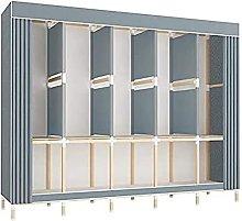 wardrobe Detachable Steel Frame Thicken Bold