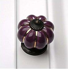 Wardrobe Draw Handles 1Pc 40mm Pumpkin Ceramic