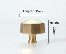 Wardrobe Draw Handles Hammer Copper Knobs for