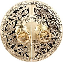 Wardrobe Handle, 11cm Brass Flower Door Knob for