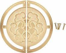 Wardrobe Handle, Symmetrical Brass Closet Handle