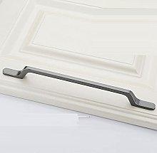 Wardrobe Handles 2Pcs Solid Zinc Alloy Cabinet