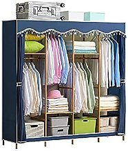 wardrobe Large Space Simple Steel Pipe Thickened