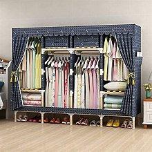 wardrobe Portable Clothes Closet Non-woven Fabric