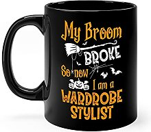Wardrobe Stylist Halloween Mug Gifts 11oz Black