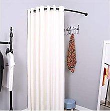 Wardrobe Type C Removable Linen Cloth Good Shading