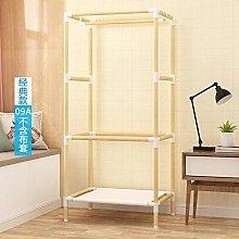 wardrobe Wooden frame solid wood assembled