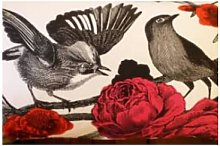 Warings - Small Brights Garden Birds Cushion -