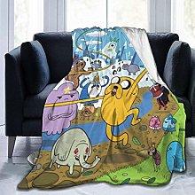 Warm Bed Blanket,Adventure Time Finn Jak Light
