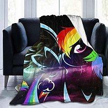 Warm Bed Blanket,Anime My Little Rainbown Pony