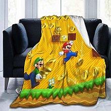 Warm Bed Blanket,Super Ma-Rio Ultra Soft Sofa