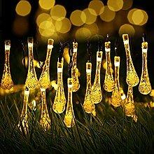 Warm White Fairy Lights Outdoor Solar, Berocia