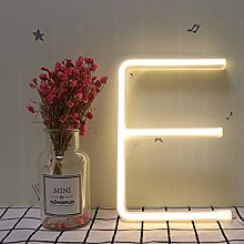 Warm White Letters Neon Sign Lights Neon Night