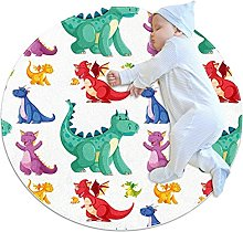 WARMFM Colorful Cute Dinosaurs Children Playing