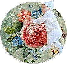WARMFM European Style Flower Children Playing Area