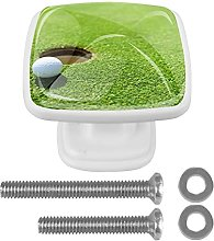 WARMFM Golf Ball Door Pull Knobs Drawer Handles 4