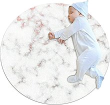 WARMFM Marble Stone Texture Children Playing Area
