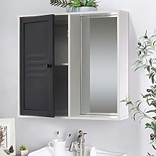 Warmiehomy Bathroom Storage Cabinet, Wall Mounted