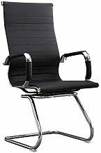 Warmiehomy Black High Back Leather Office Chair