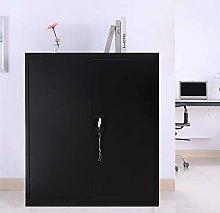 Warmiehomy Black Office File Storage Cupboard