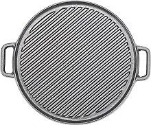Warmiehomy Cast Iron Griddle Pan, Non-Stick Cast