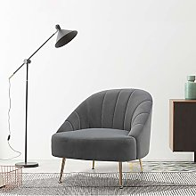 Warmiehomy Comfy Fabric Occasional Accent Chair