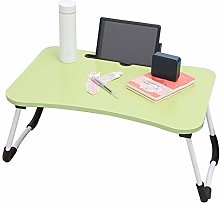 Warmiehomy Laptop Bed Table, Large Foldable Lap