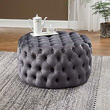 Warmiehomy Modern Chesterfield Coffee Table